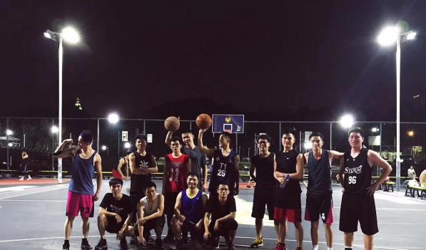 无兄弟,不篮球!今日,一年一度的陨石工业设计部三人篮球赛正式开战!